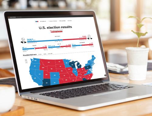 美國總統大選開票資訊設計 Data Visualization